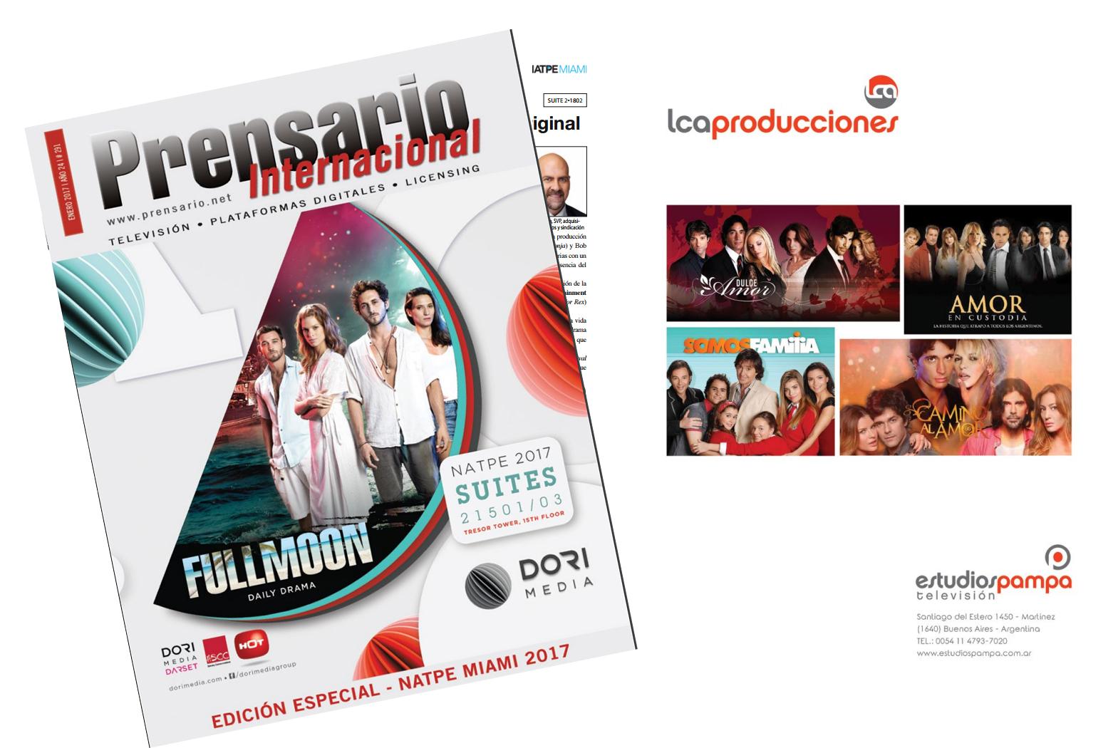 LCA Producciones, el nombre de la telenovela